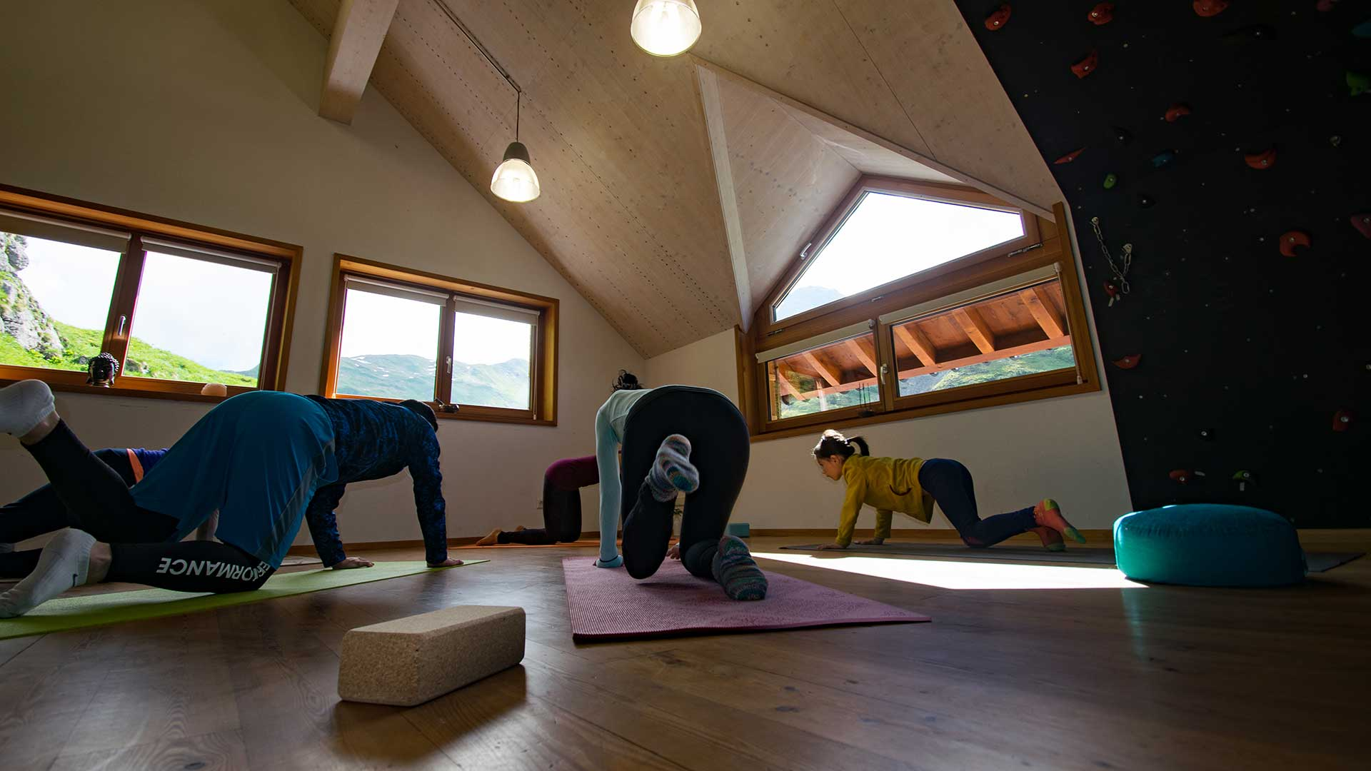 Yoga Retreat in der Energiezone der Lechquellen